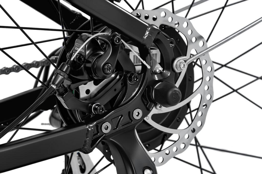 Commuter Ebike HAIDONG Walker_ Mechanical Disc Brakes