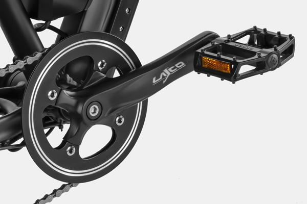 HAIDONG Explorer Electric Fat Bike_Crank
