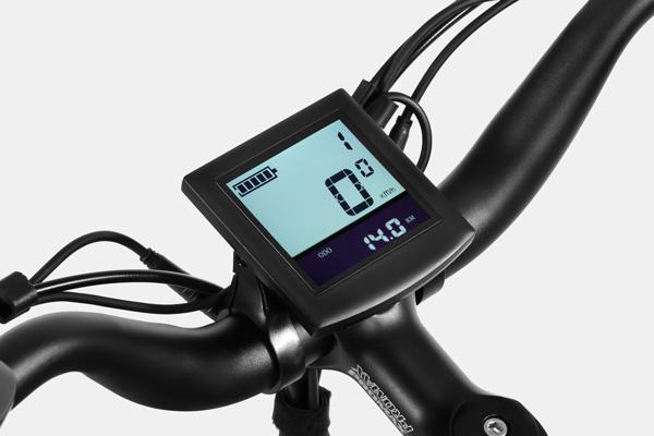 HAIDONG Explorer Electric Fat Bike_ LCD Display