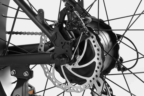 HAIDONG Explorer Electric Fat Bike_ Hydraulic Disc Brakes