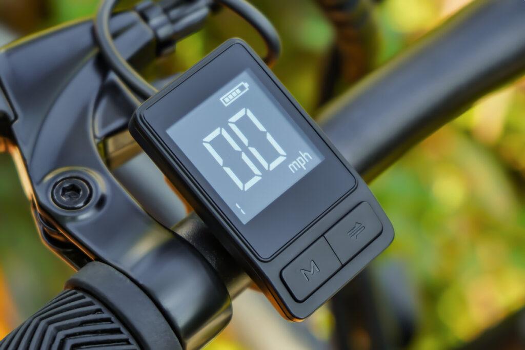 Commuter Ebike HAIDONG Pioneer_LCD Display