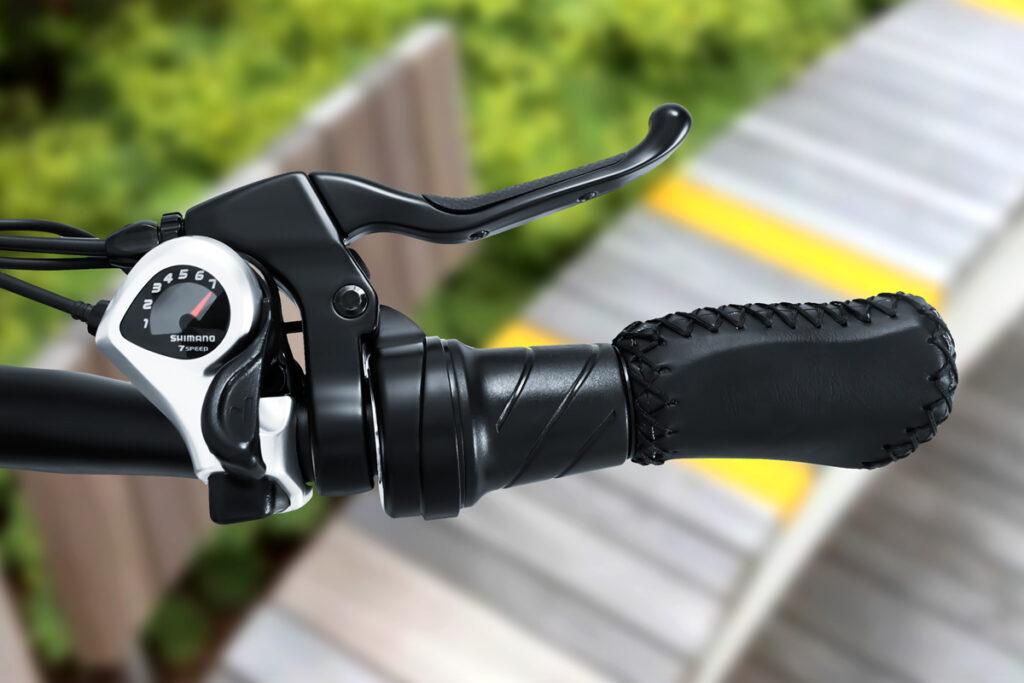 Commuter Ebike HAIDONG Pathfinder_Twist Throttle