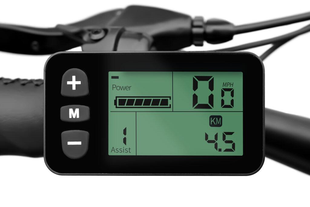 Commuter Ebike HAIDONG Pathfinder_LCD Display