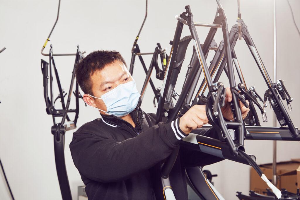 electric bike Production workshop1
