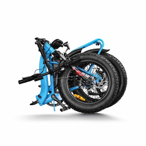 Folding Ebike Wholesale Blue3_Haidong